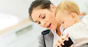 Yarı zamanlı çalışan anne